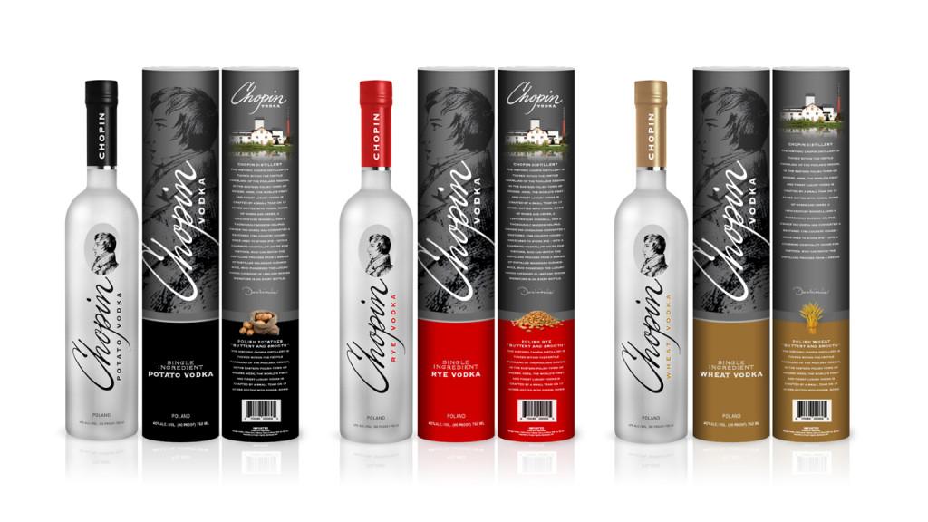 Chopin Vodkas