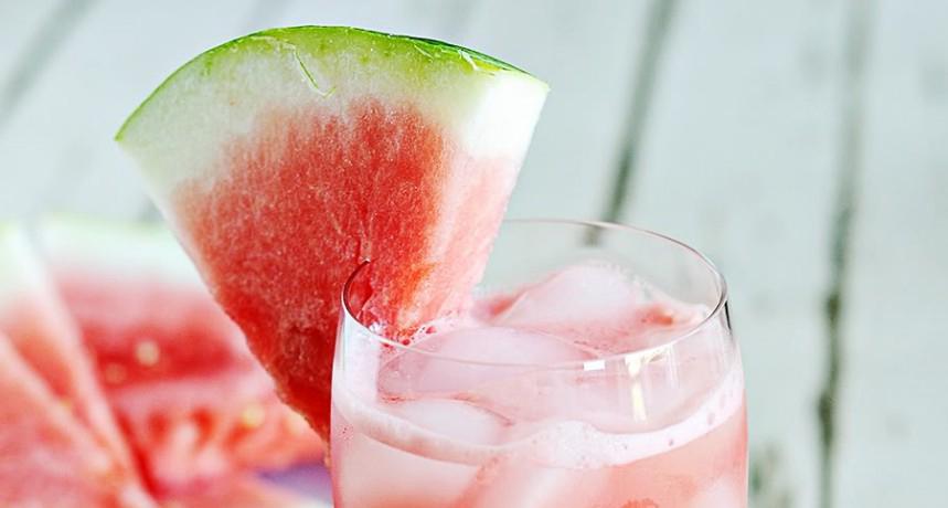 melancia e vodka