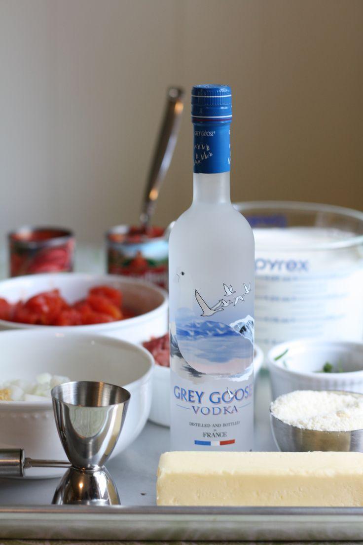 Petiscos e vodka