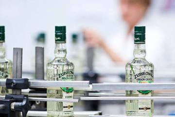 Produção de vodka