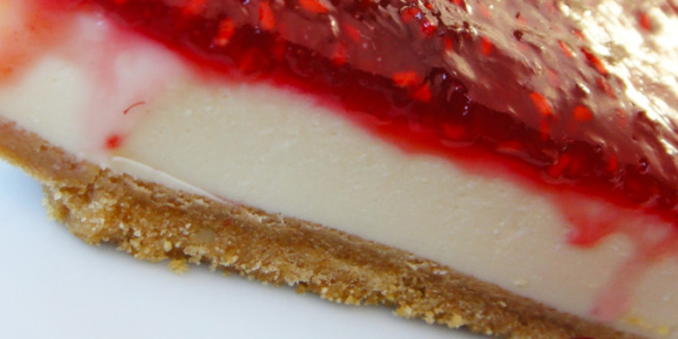Cheesecake de Framboesa e Vodka
