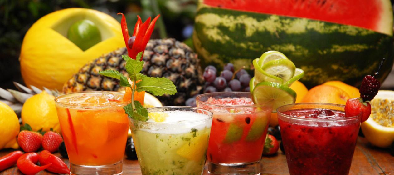 Drink de fruta alcoolizada