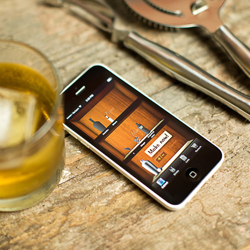 App Liquor Cabinet