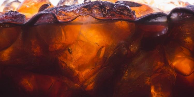 Destilado com refrigerante