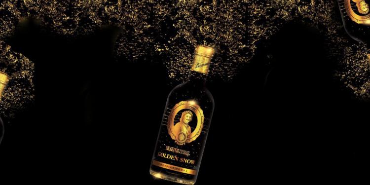 Vodka Czar`s Golden Snow
