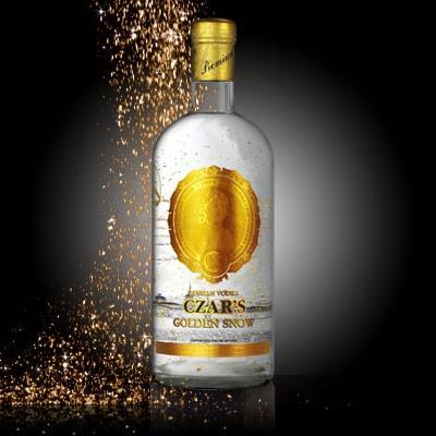 Vodka Czar`s Golden Snow - BenditaVodka