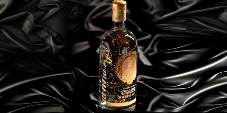 Vodka Czar`s Golden Snow - BenditaVodka