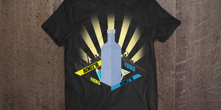 Camisa Arte Bendita Vodka