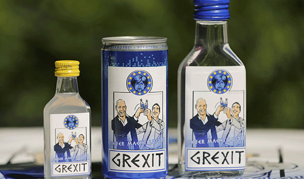 Grexit Vodka  - Benditavodka