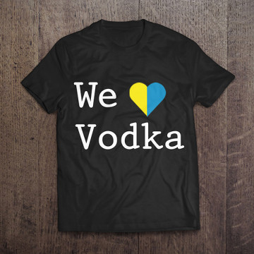 Camisa We Love Vodka