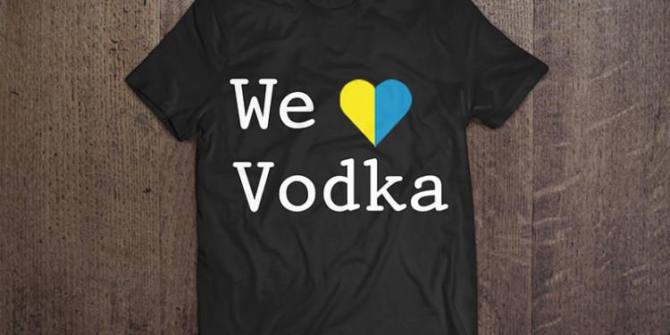 Camisa We Love Vodka