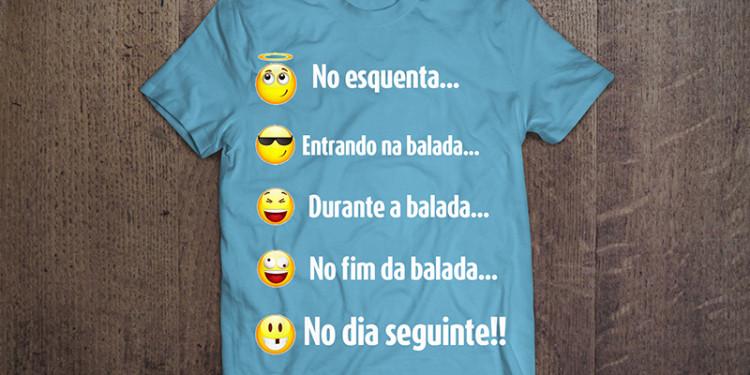 Camisa Emojis