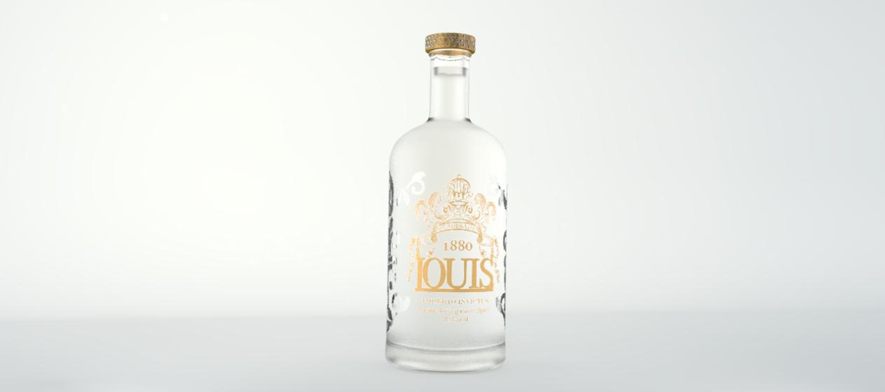 Louis 1880 Vodka - Bendita Vodka