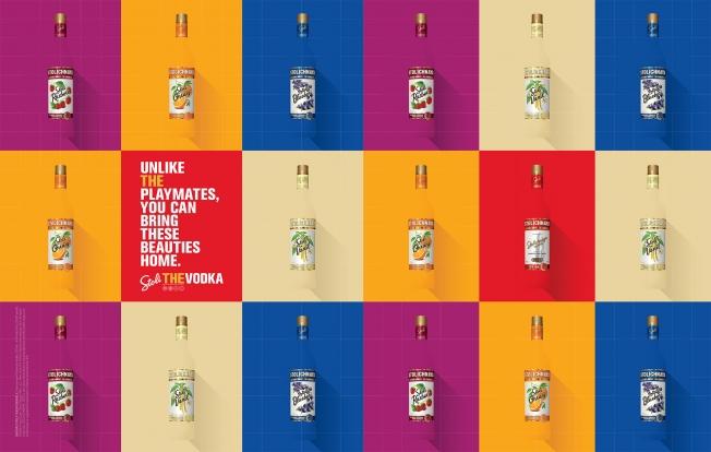 Anúncio de Vodka Stolichnaya na Playboy