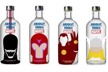 Vodka Absolut Marvel