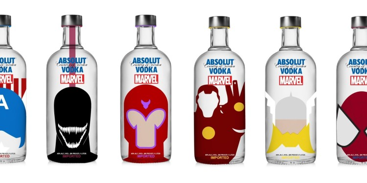 Vodka Absolut Marvel
