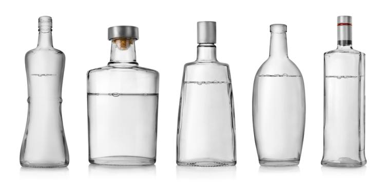 Garrafa de Vodka