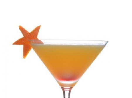 Drink Batida de laranja - Vodka e laranja